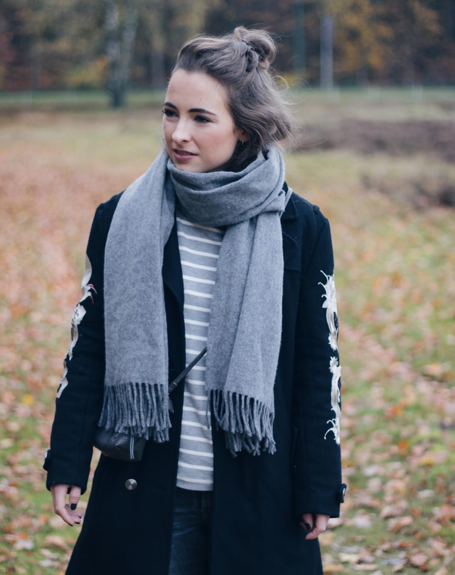zwarte coat