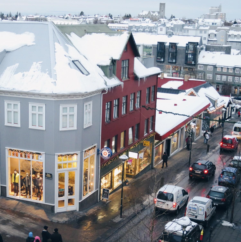 In dit leuke hostel in Reykjavik verbleven wij!