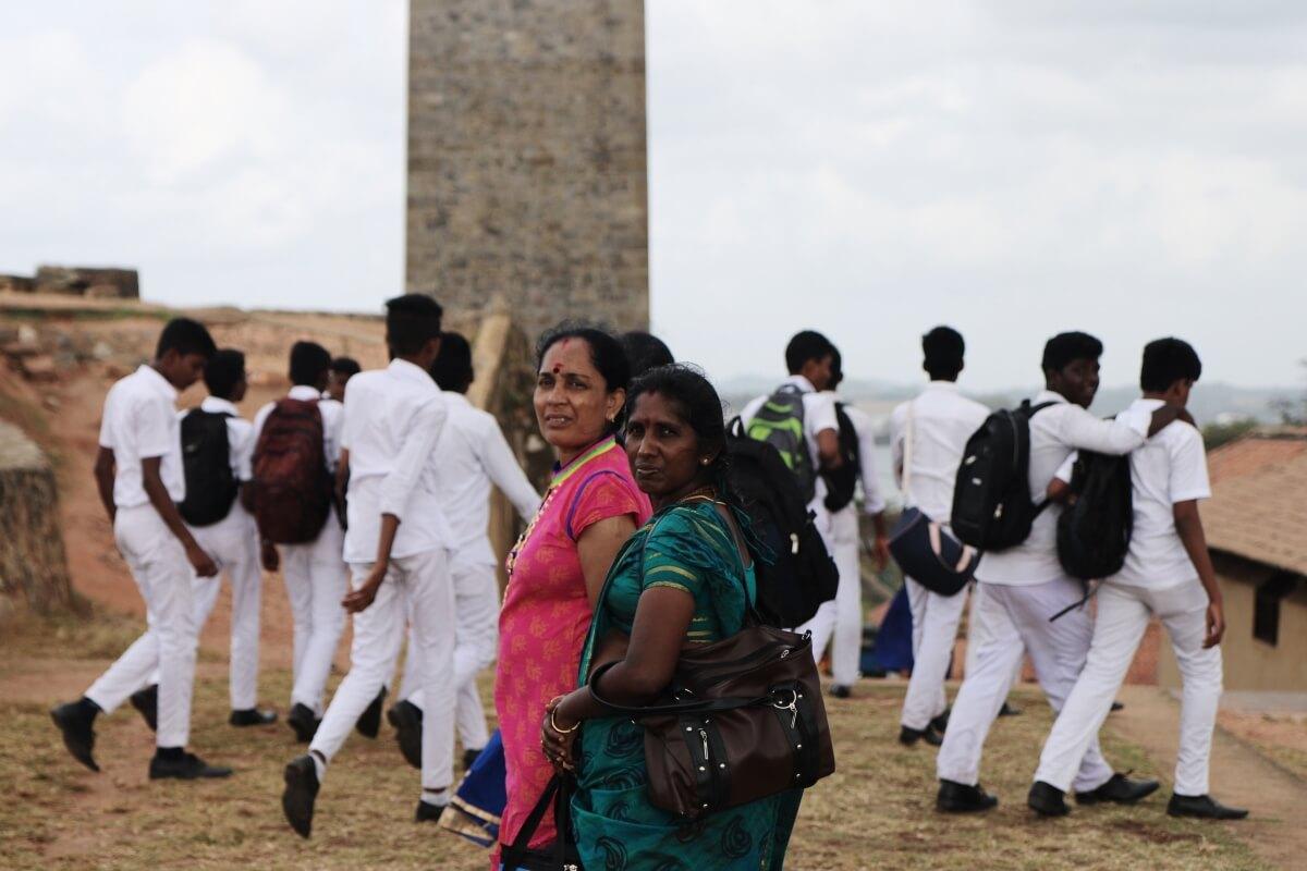 The people of Sri Lanka