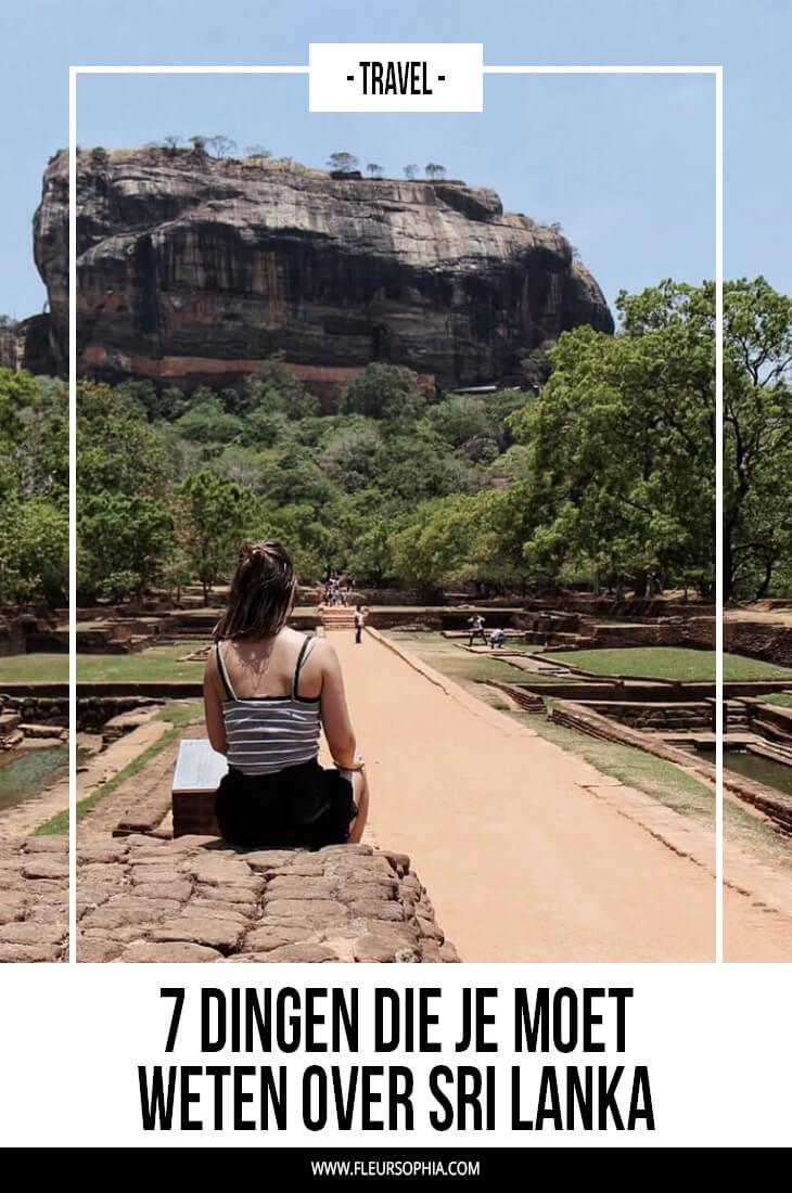 weten over Sri Lanka
