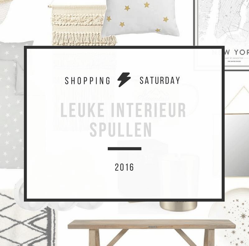 Shopping Saturday – Leuke interieur spullen