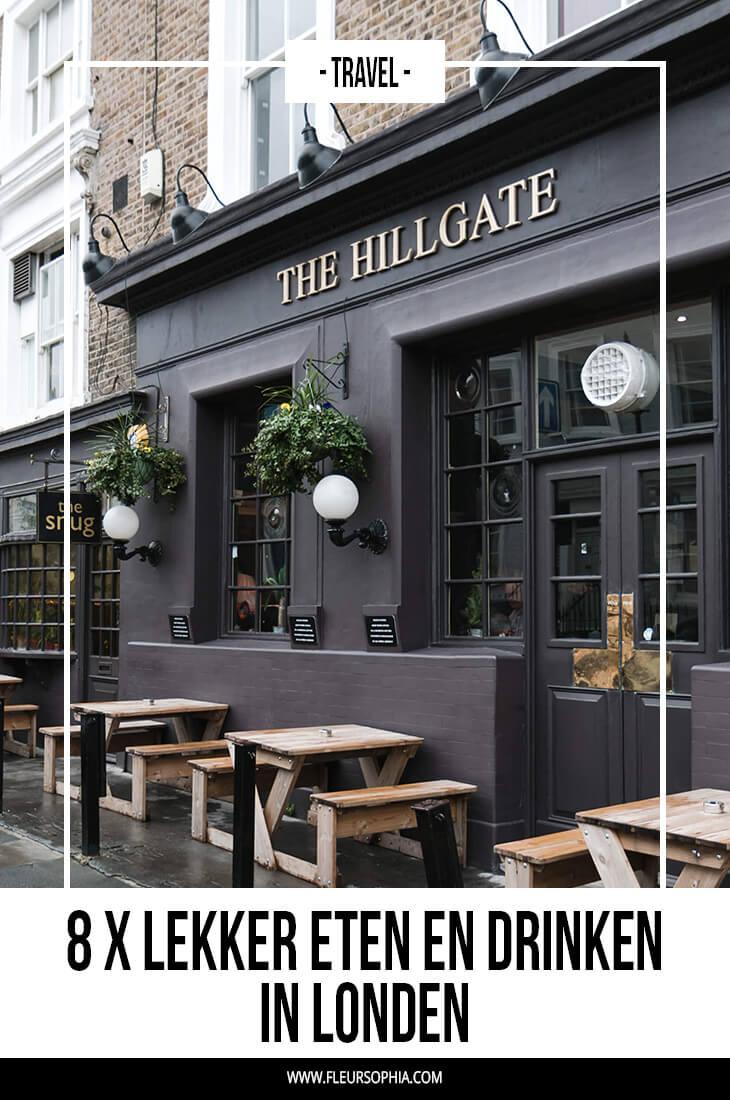 eten en drinken in Londen