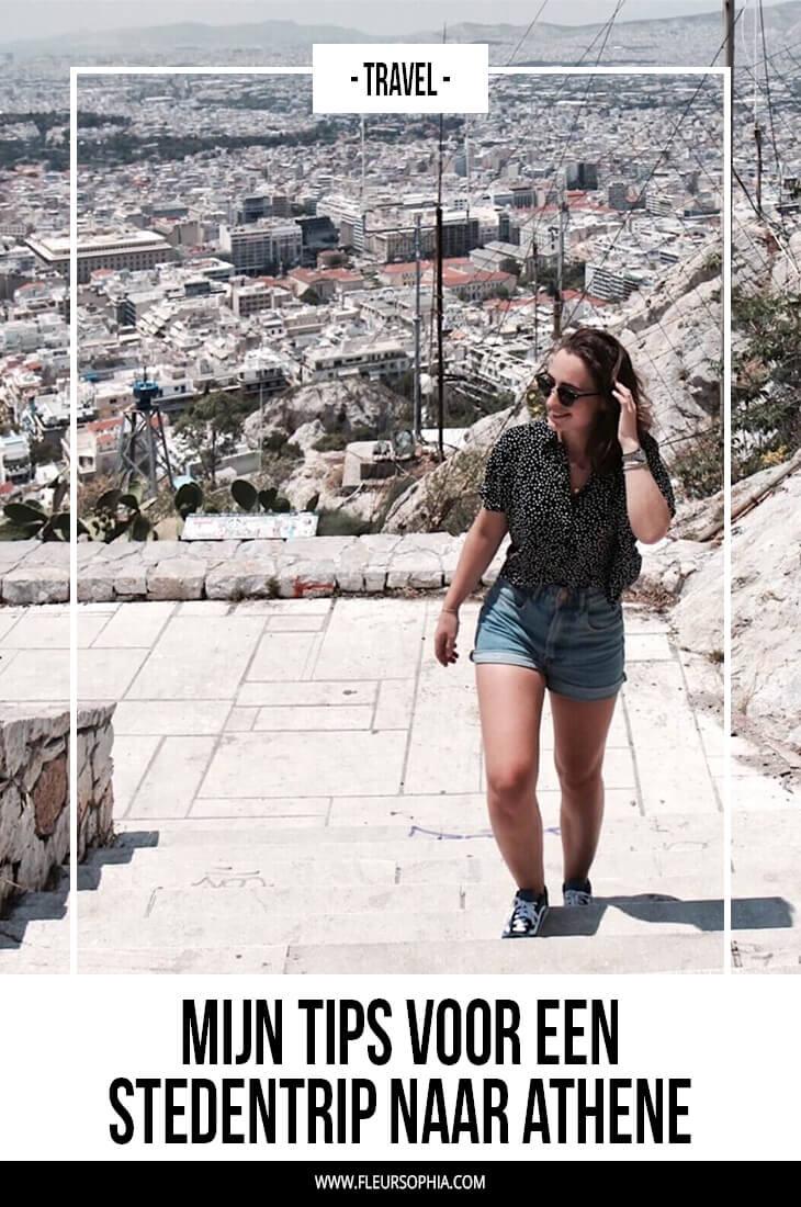 stedentrip naar Athene