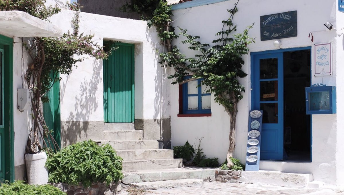 Ongeveer zo ging mijn persreis op Lesbos er aan toe