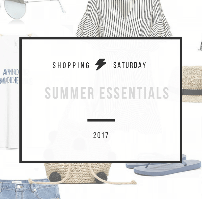 Shopping Saturday – Summer essentials