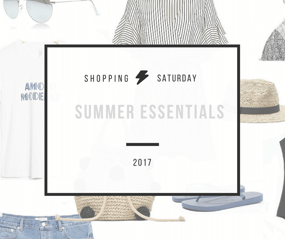 Shopping Saturday – Summer essentials