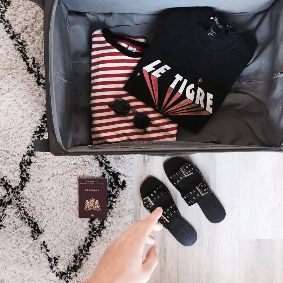 voorbereid op vakantie