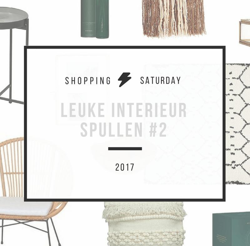Shopping Saturday – leuke woonaccessoires