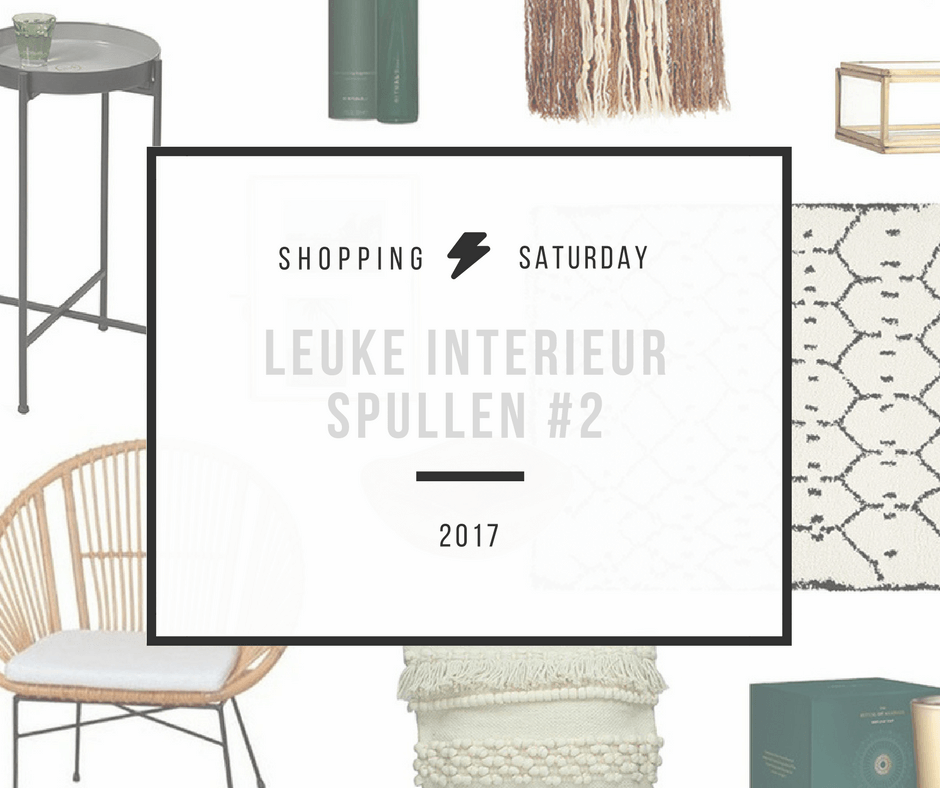 Shopping Saturday – leuke woonaccessoires