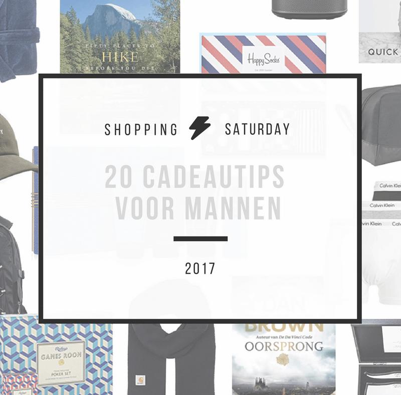 Shopping Saturday – 20 cadeautips voor mannen