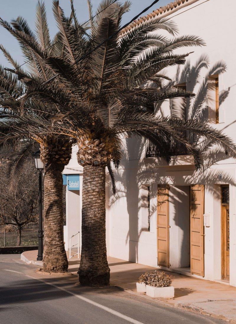 in de winter naar Ibiza