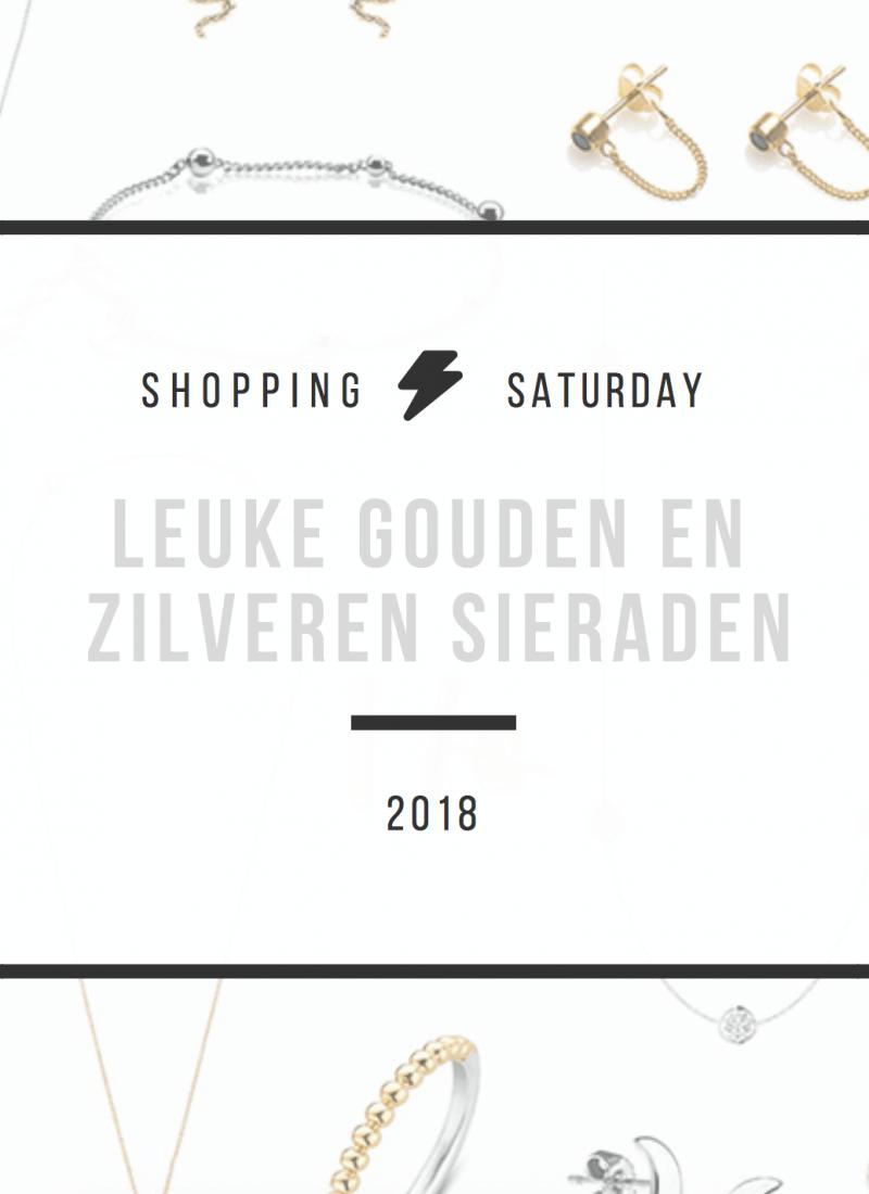 Shopping Saturday – leuke gouden en zilveren sieraden
