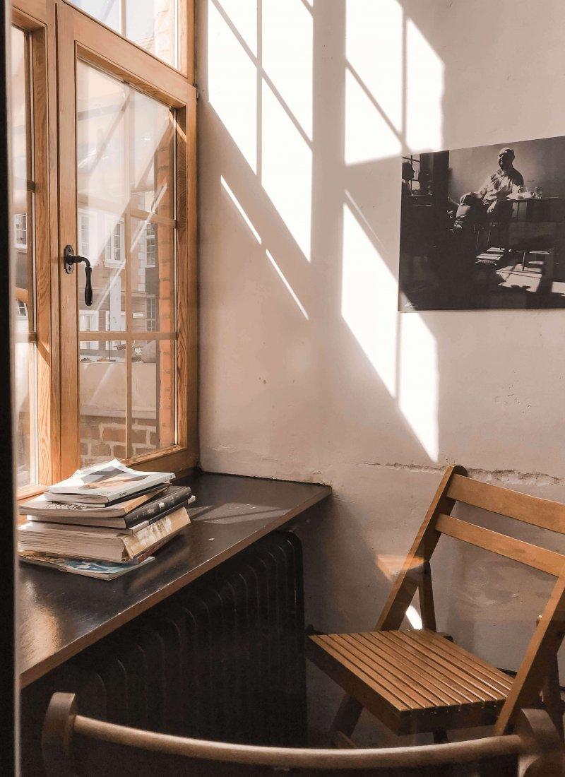 Drukarnia Cafe in het mooie Gdańsk in Polen