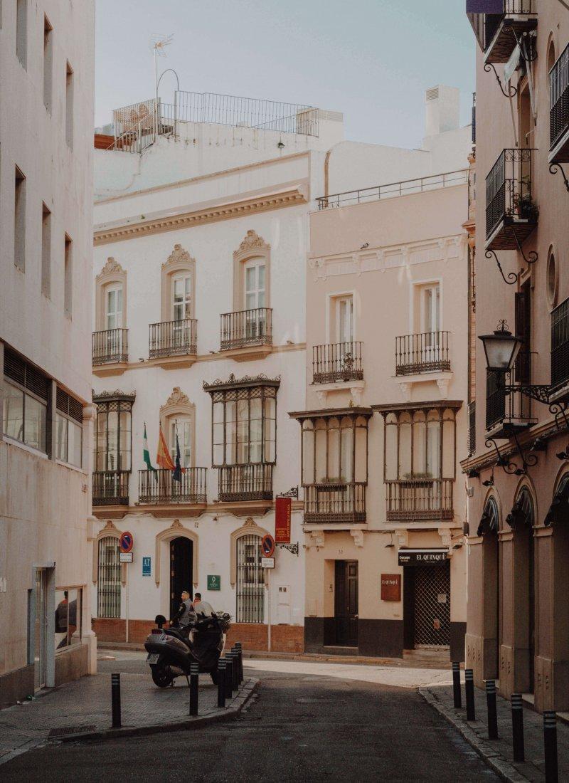 Spaanse stad Sevilla