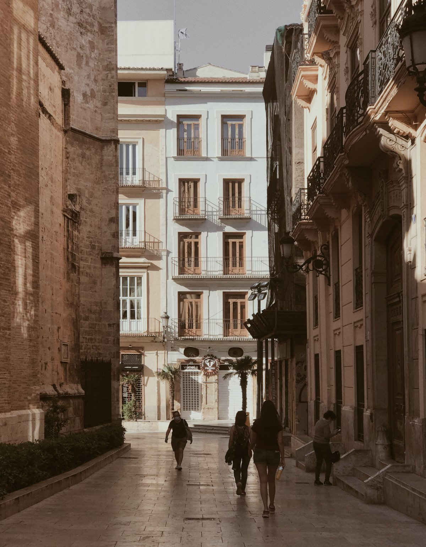 Valencia in 10 foto's, na 50 dagen in complete lockdown