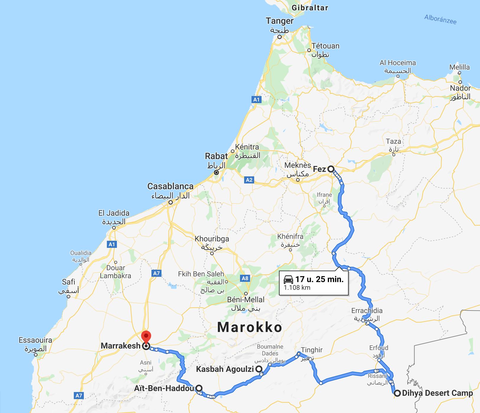 week Marokko