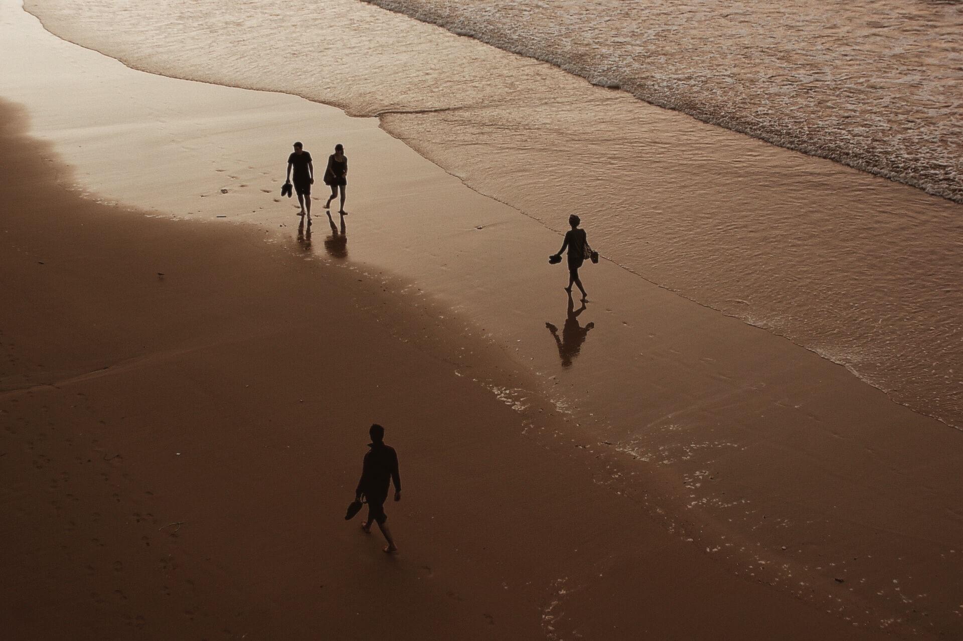 In de buurt van Biarritz