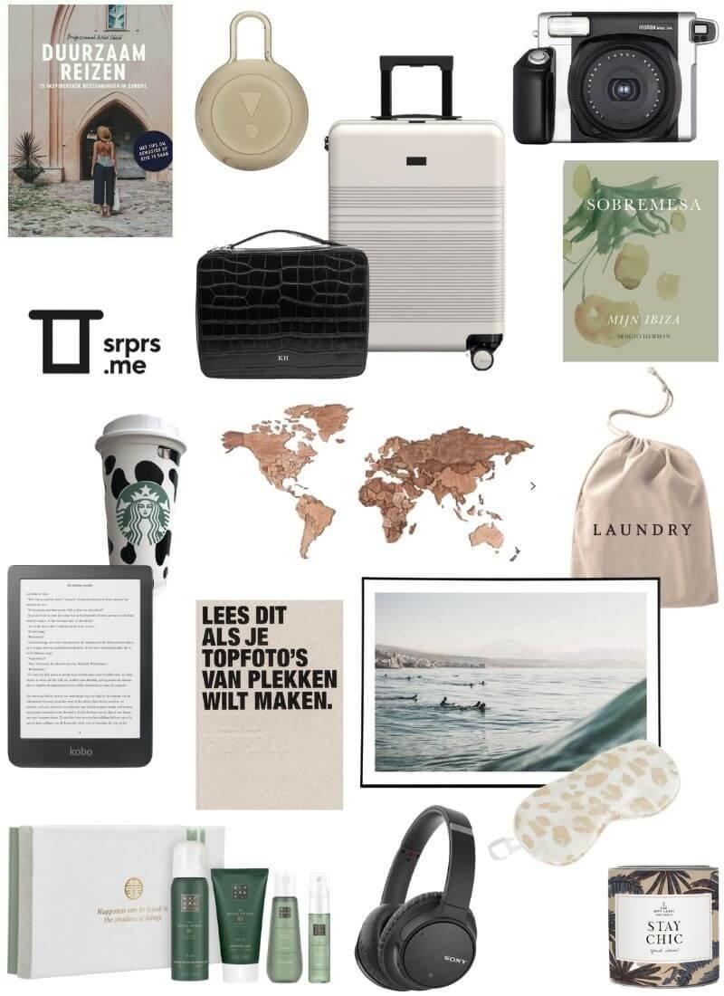 Cadeautips voor reisliefhebbers