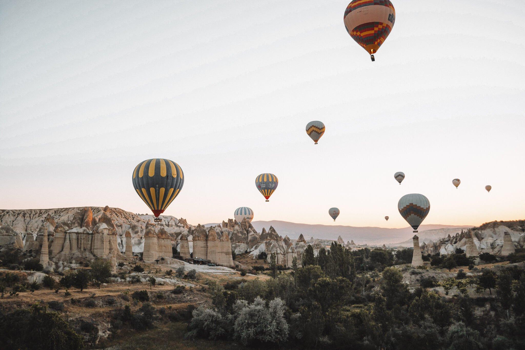 Mooiste plekken in Turkije